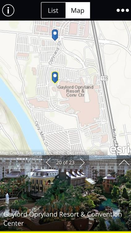 Nashville Map Tour screenshot-4
