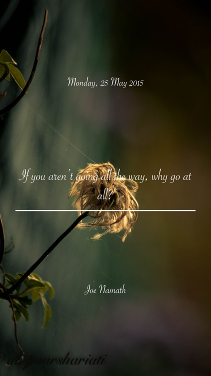 Quotr - your daily quota of uplifting and inspiring quotes