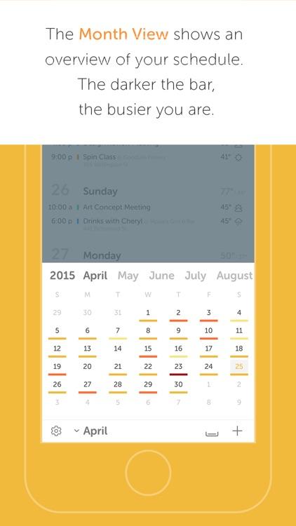 Horizon 3 - Calendar + Weather