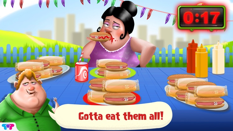 Hot Dog Truck : Lunch Time Rush! Cook, Serve, Eat & Play screenshot-3