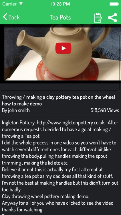 Pottery Lessons - How To Make Pottery