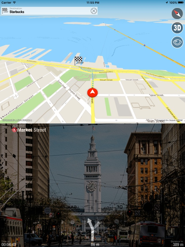 Offline Maps Globe Voice Navigator