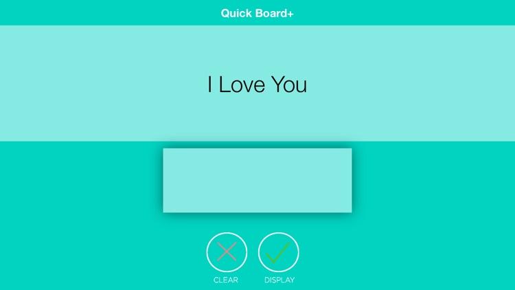 Quick Board+