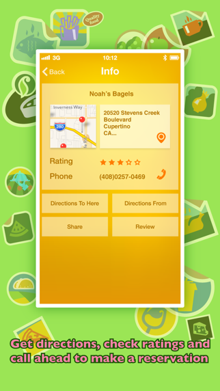 Where To Eat Pro review screenshots