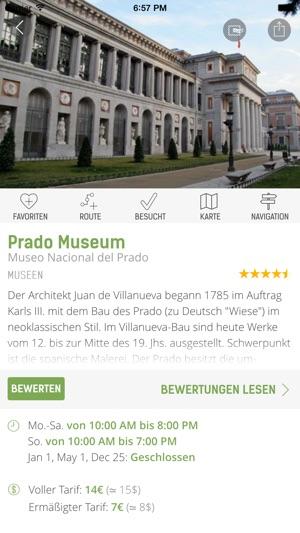 Madrid Reiseführer (mit Offline Stadtplan) - mTrip Screenshot