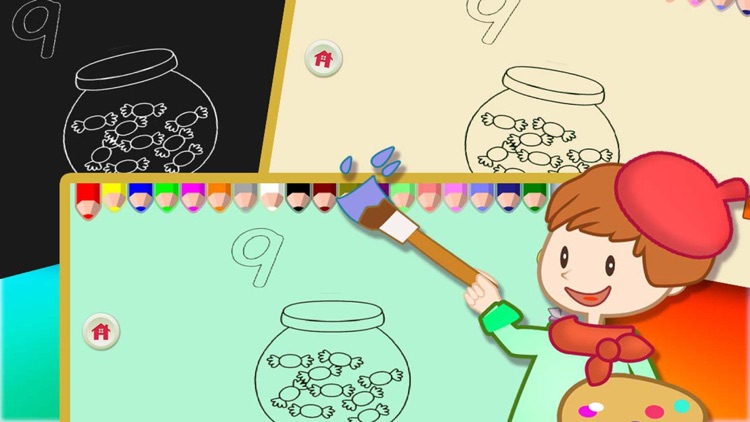 ABC Coloring Book 17 - Making the numbers colorful screenshot-3