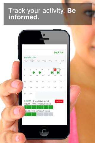 7 Minute Workout Challenge screenshot 3