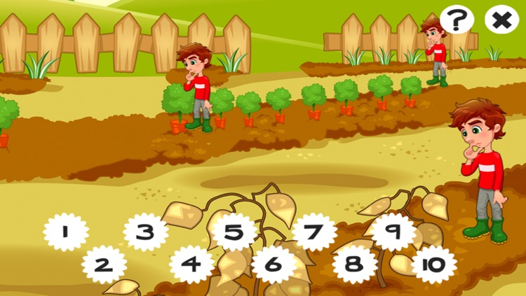 A Garden Counting game for children: Learn to count the numbers 1-10 screenshot-3