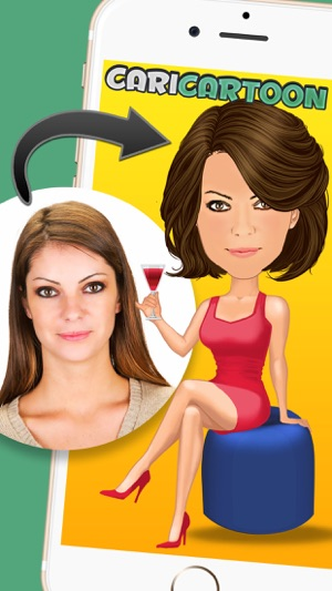CariCartoon - Funny Cartoon Caricature Maker Screenshot