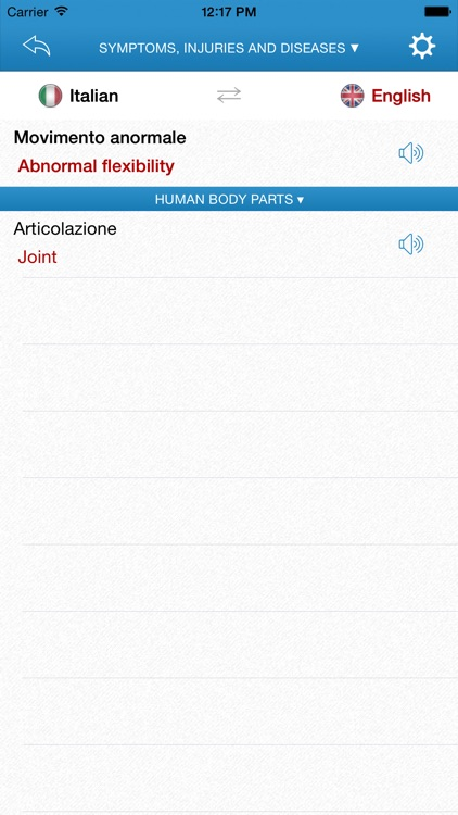 English-Italian Medical Dictionary for Travelers screenshot-3