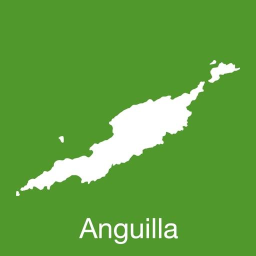 Anguilla GPS Map