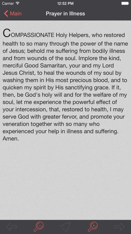 Fourteen Holy Helpers: Catholic Novena and Prayers screenshot-4