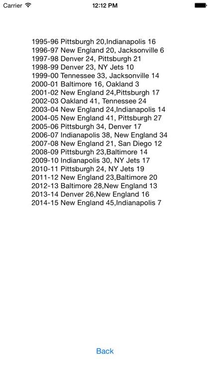 Football Reference Guide screenshot-3