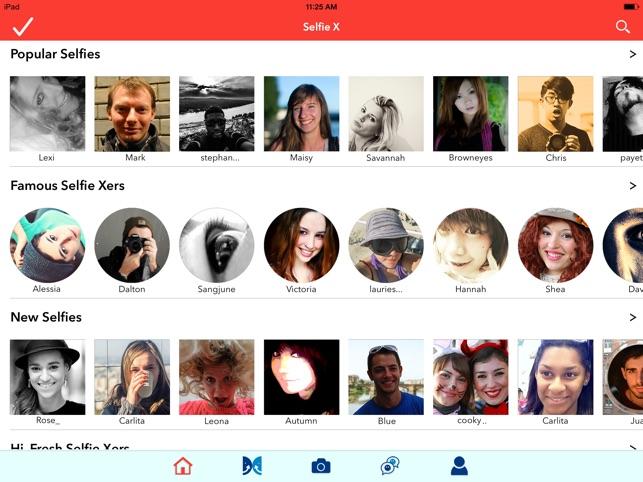 Selfie X Screenshot
