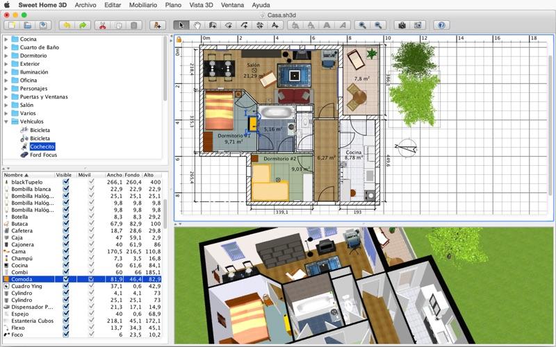Sweet Home 3D - Descargar APK para Android gratuit [Última ...
