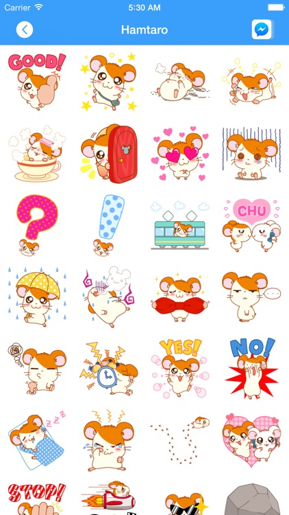 Total Stickers for Messenger screenshot-3