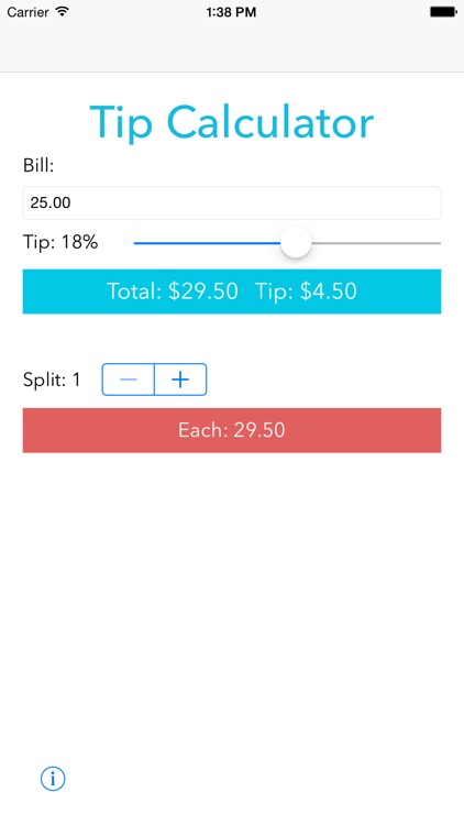 Free Tip Calculator - Simple yet useful
