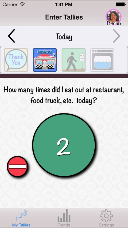 Count It: Tally, Track and Trend Your Life Activities screenshot-0