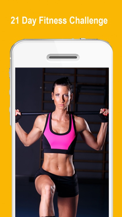 21 Day Challenge PRO to fix your body - Extreme Workouts Tracker