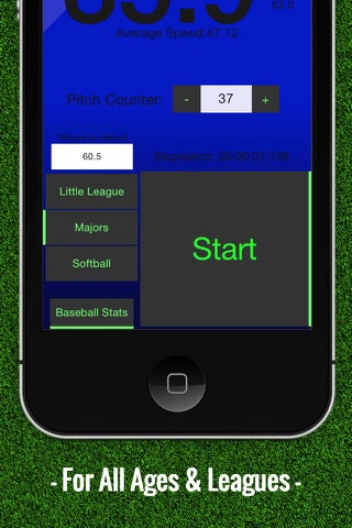 Baseball Pitch Speed - Radar Gun screenshot 4