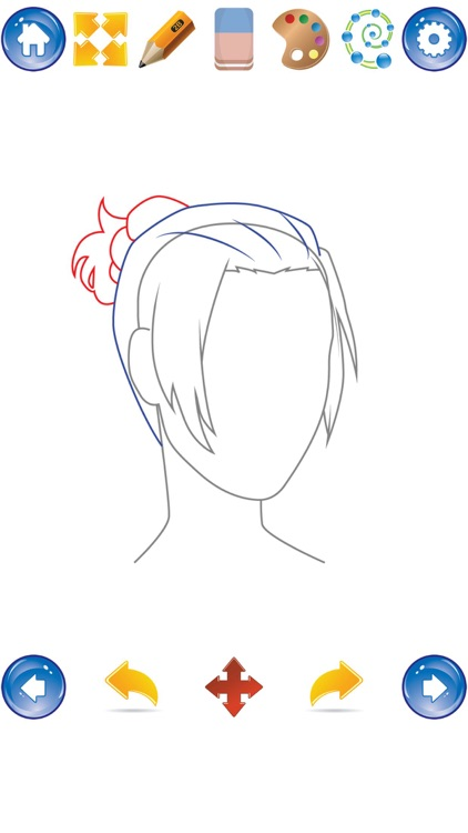 How to Draw Hair screenshot-3