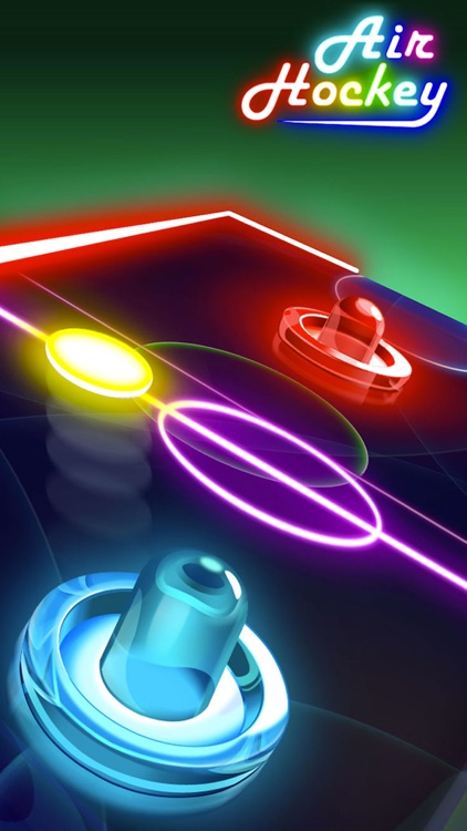 Glow Air Hockey