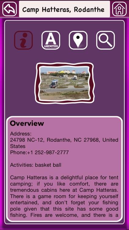 North Carolina Campgrounds Offline Guide