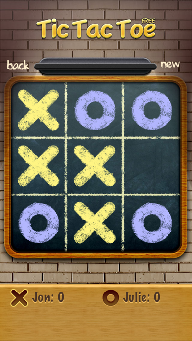 Noughts and Crosses ∙ screenshot one