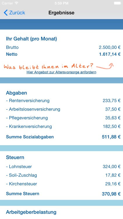 Nettolohn.de screenshot-4