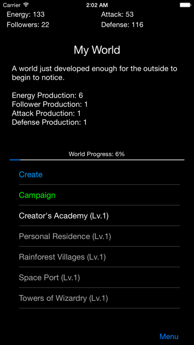 Nano Empire screenshot one