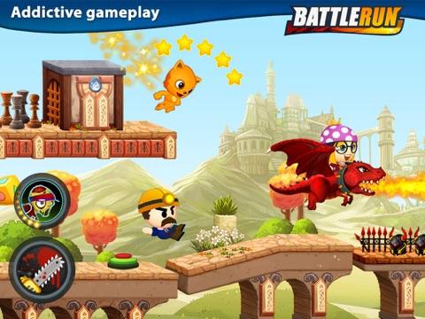 Боевые гонки (Battle Run) для iPad