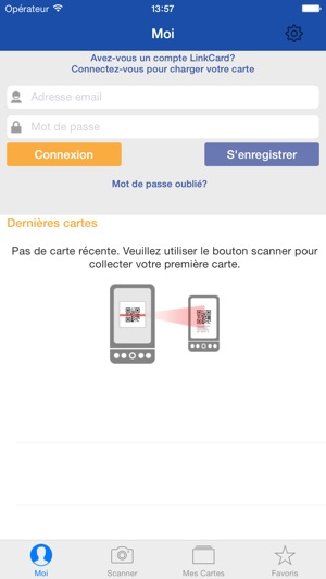 Scan LinkCard Im App Store