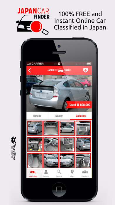 Japan Car Finder Sell And Buy Vehicles App Price Drops