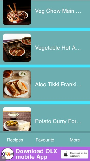 Street food recipes on the app store iphone ipad forumfinder Choice Image