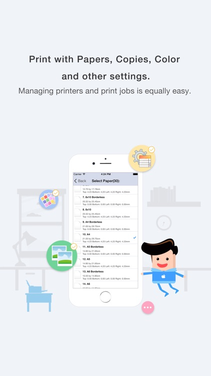 Quick Print via Google Cloud Print for iPhone screenshot-4