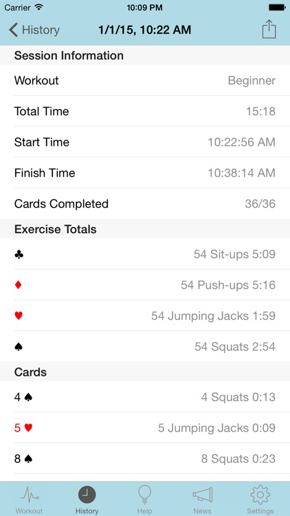 RipDeck - Deck of Cards Workout