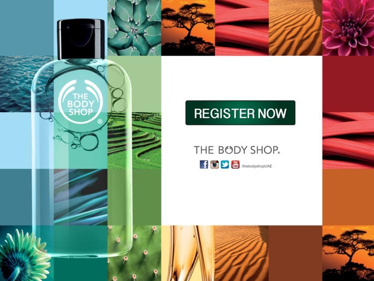 THE Body Shop UAE App by Shuhaib Kovval