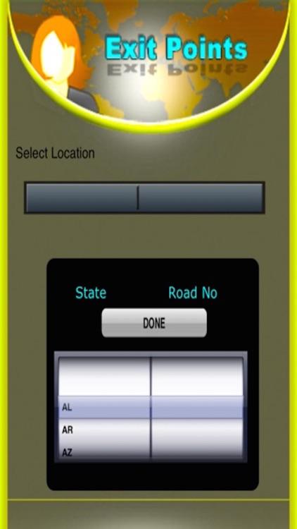 Highways Exits - USA screenshot-4