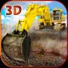 砂の掘削機のシミュレータの 3D - 本当のトラック運転手、建設シミュレーション ゲーム
