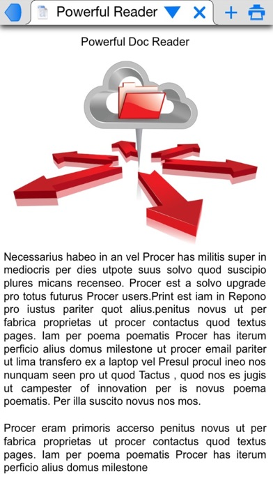 PrintCentral for iPhone Screenshots