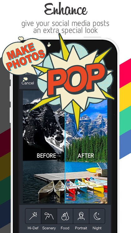 PicEdit Pro - Quick Photography Editor & Photo Enhancer screenshot-1