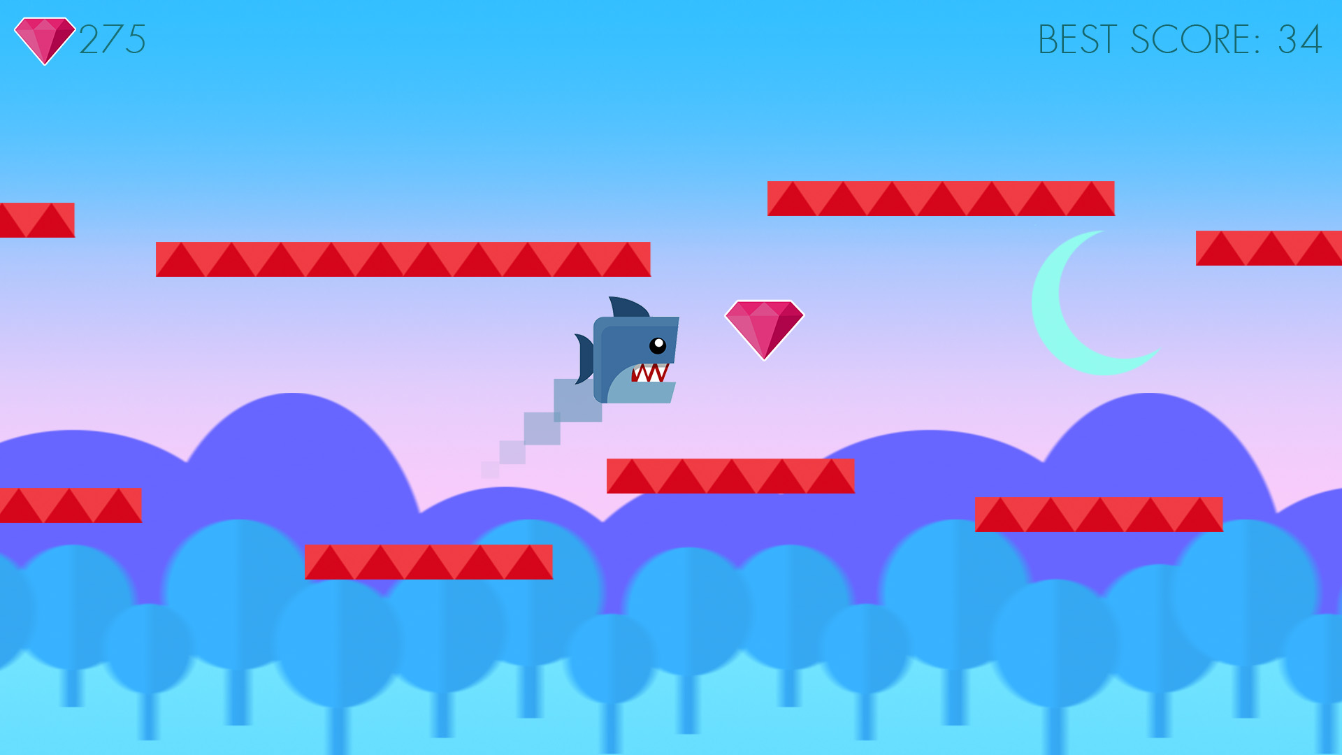 Animal Gravity Run screenshot 13