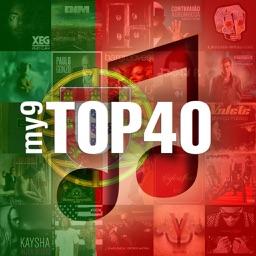 my9 Top 40 : PT paradas musicais