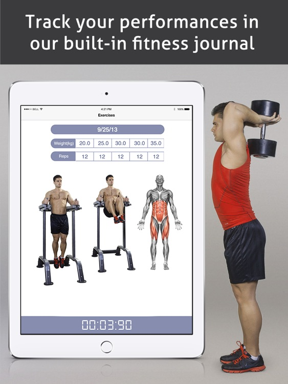 Go Fitness Pro HD screenshot-2