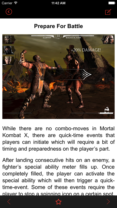 Tips for Mortal Kombat X - Mobile Guide with tips and tricks for MKX!のおすすめ画像2