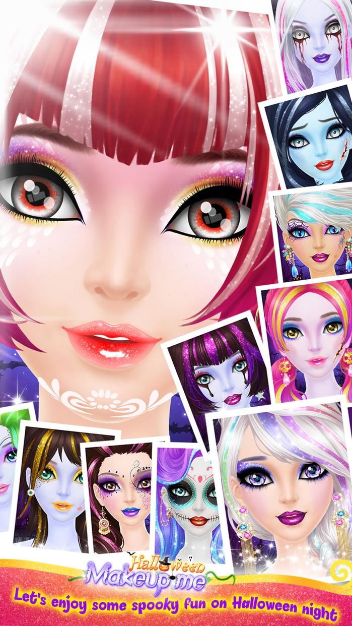 Make Up Me: Halloween - Girls Makeup, Dressup and Makeover Game Screenshot