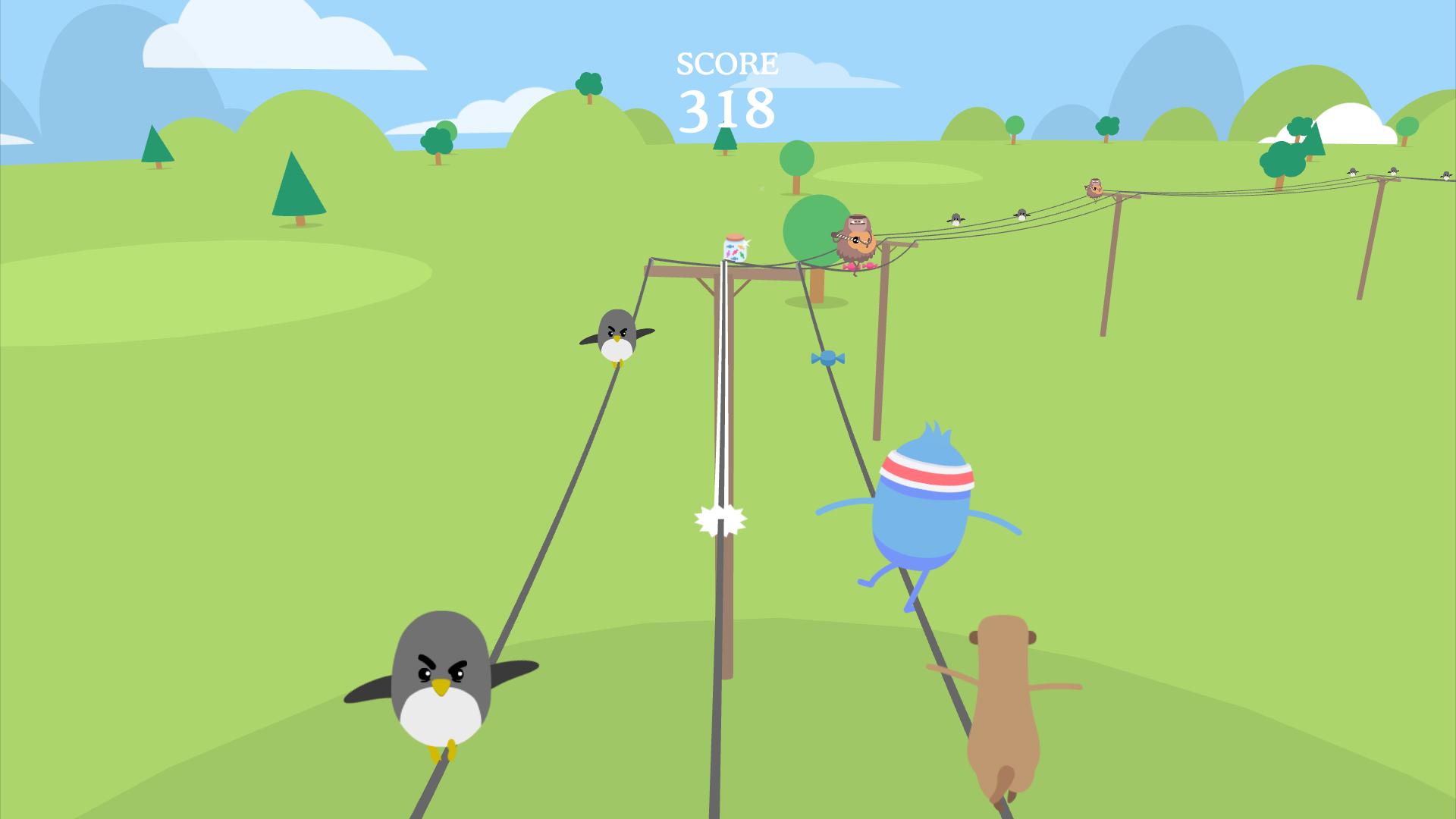 Dumb Ways to Die: Wire Walk screenshot 5