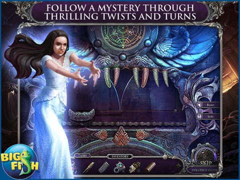 Mystery Trackers: Blackrow's Secret HD - A Hidden Object Detective Game screenshot three