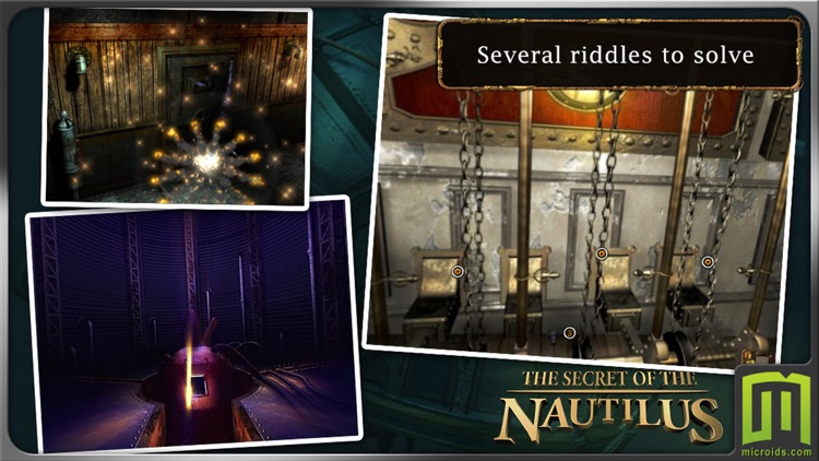 Jules Verne's Mystery of the Nautilus - (Universal) screenshot-3