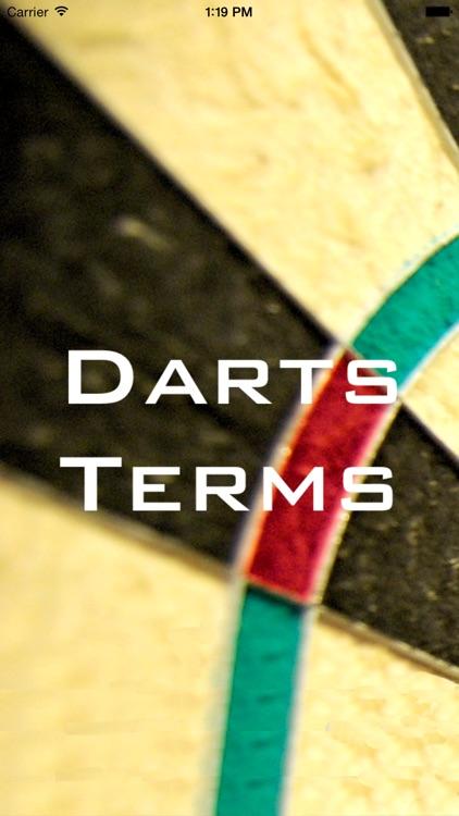 Darts Terms